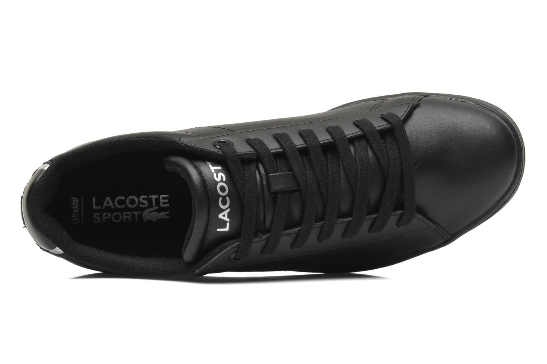 Sneakers Lacoste Carnaby Evo Ctr Zwart links