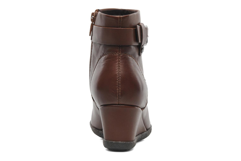 Boots en enkellaarsjes Geox D AMELIA ST A D4479A Bruin rechts