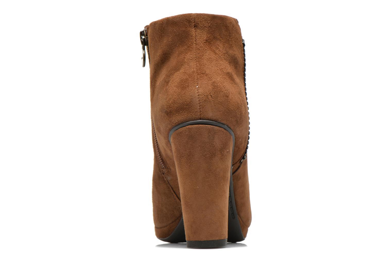 Boots en enkellaarsjes Geox D KALI B D44L1B Bruin rechts
