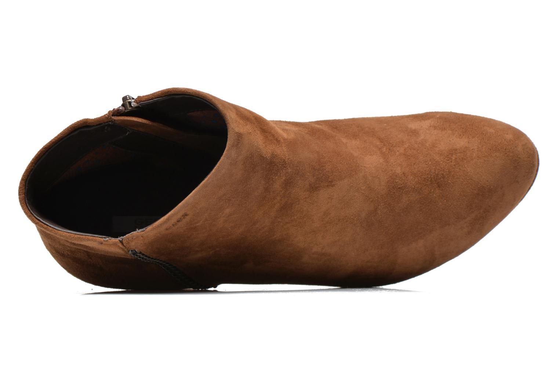 Boots en enkellaarsjes Geox D KALI B D44L1B Bruin links