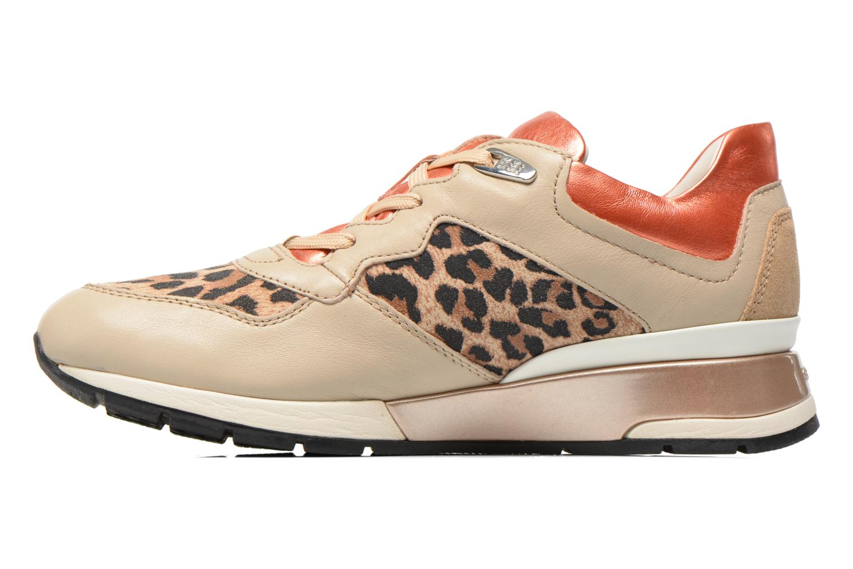 Sneaker Geox D SHAHIRA A D44N1A beige ansicht von vorne