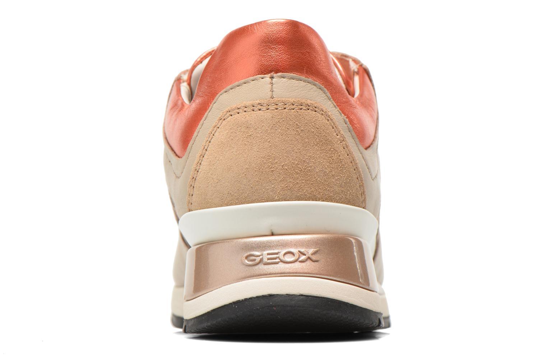 Sneakers Geox D SHAHIRA A D44N1A Beige immagine destra