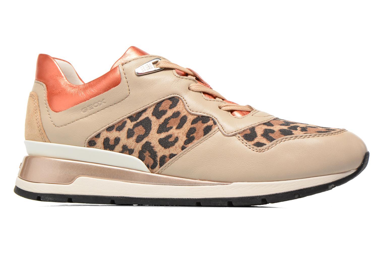 Sneakers Geox D SHAHIRA A D44N1A Beige immagine posteriore