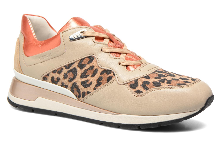 Sneaker Geox D SHAHIRA A D44N1A beige detaillierte ansicht/modell
