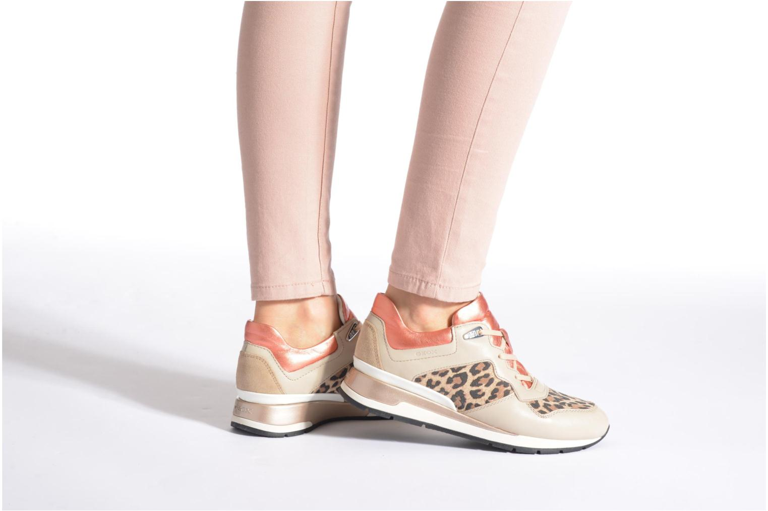 Sneakers Geox D SHAHIRA A D44N1A Wit onder