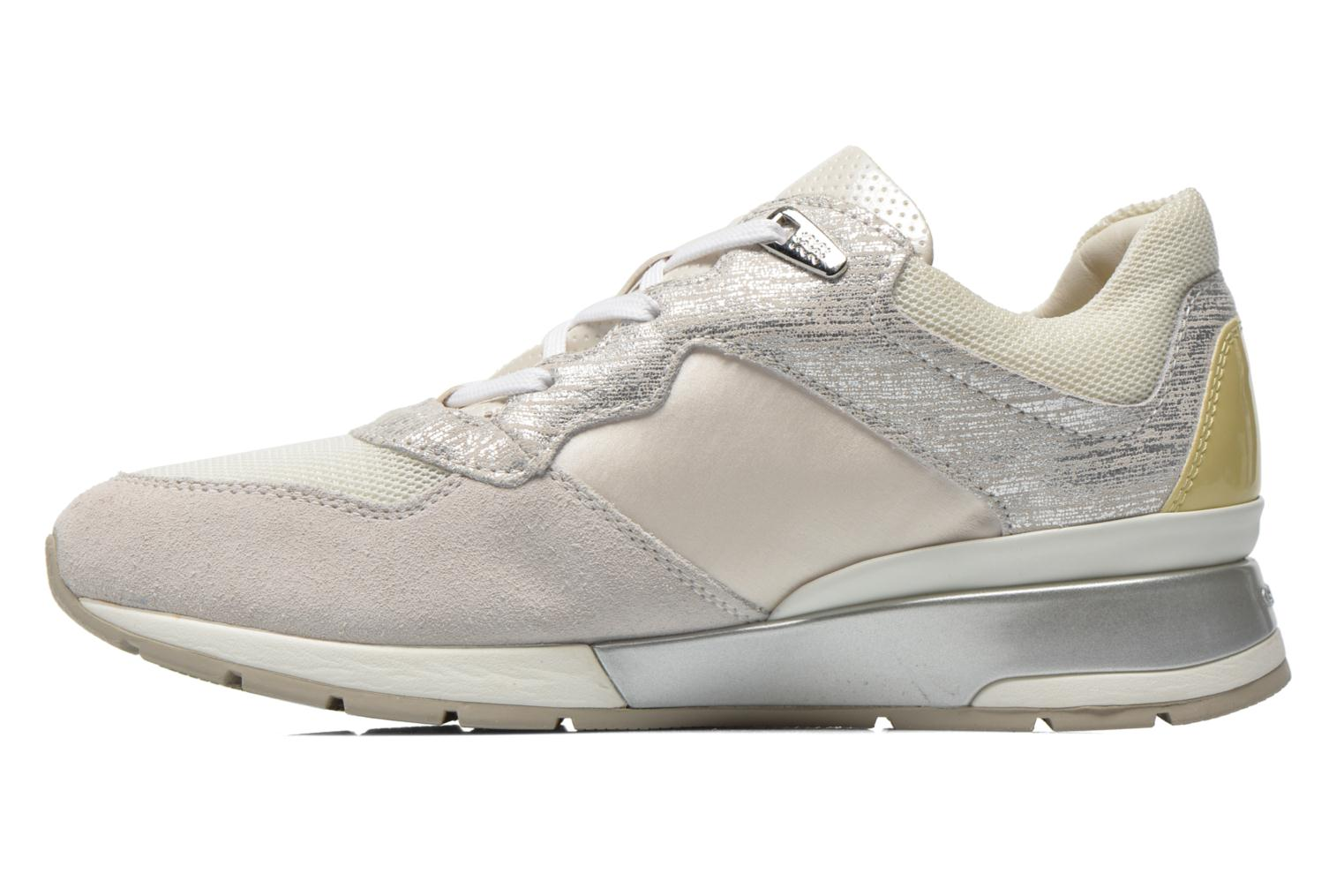 Sneakers Geox D SHAHIRA A D44N1A Bianco immagine frontale