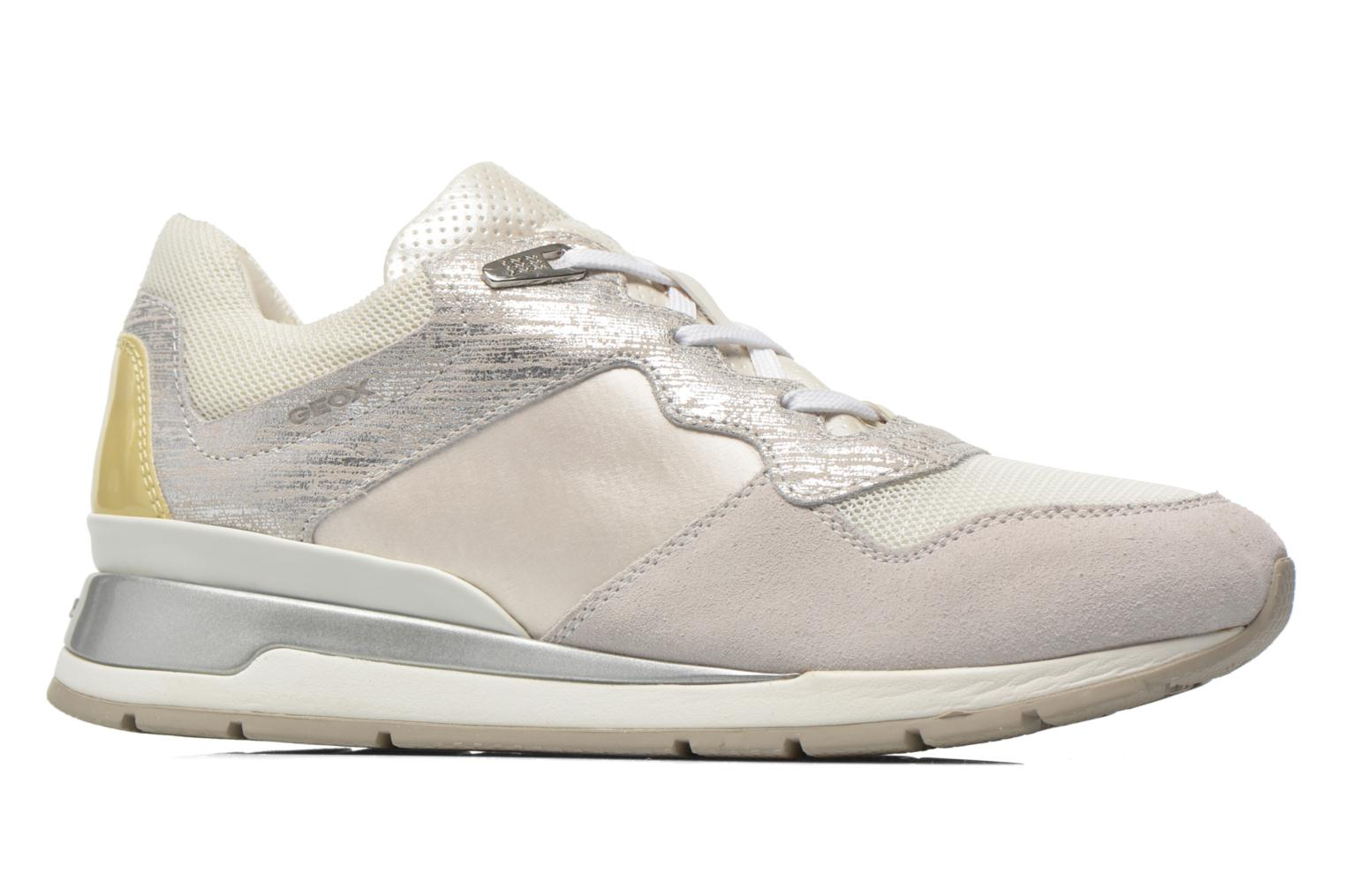 Sneakers Geox D SHAHIRA A D44N1A Wit achterkant