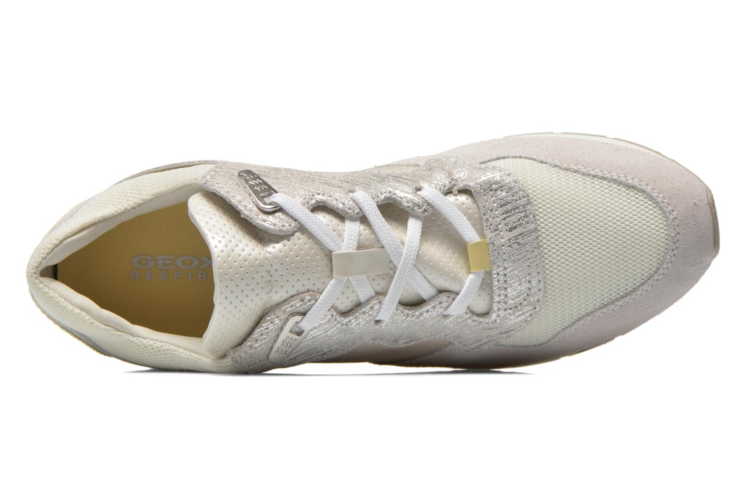 Sneakers Geox D SHAHIRA A D44N1A Bianco immagine sinistra
