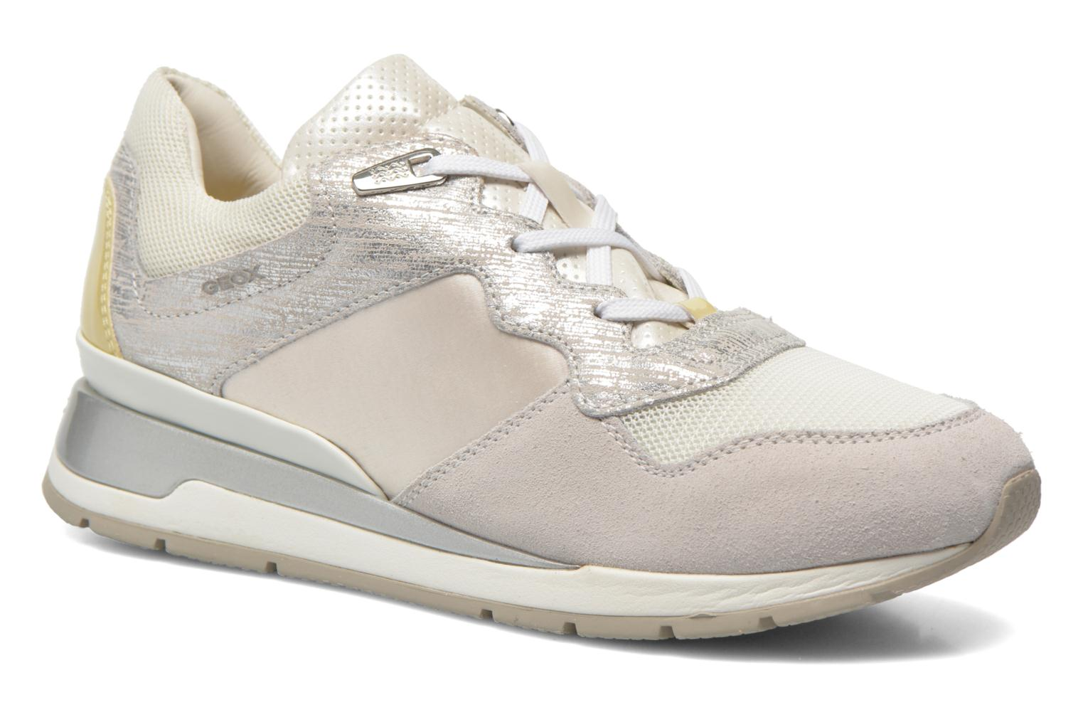 Sneakers Geox D SHAHIRA A D44N1A Wit detail