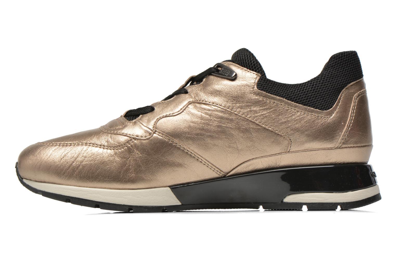 Sneakers Geox D SHAHIRA A D44N1A Bronze och Guld bild från framsidan