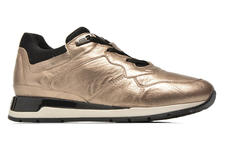 Sneakers Geox D SHAHIRA A D44N1A Bronze och Guld bild från baksidan