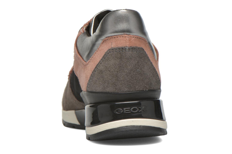 Sneakers Geox D SHAHIRA A D44N1A Grijs rechts