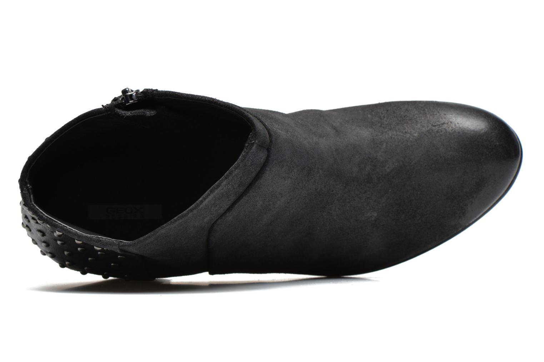 Boots en enkellaarsjes Geox D LUCINDA C D4470C Zwart links