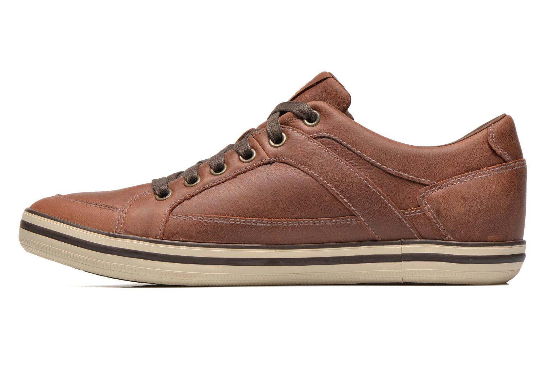 Sneakers Geox U BOX D U44R3D Bruin voorkant