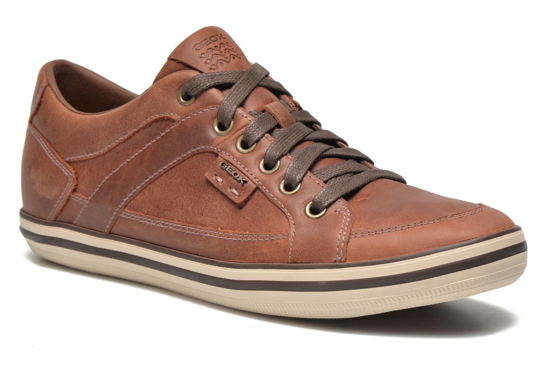 Sneakers Geox U BOX D U44R3D Bruin detail