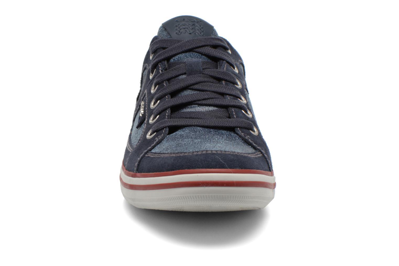 Sneaker Geox U BOX D U44R3D blau schuhe getragen