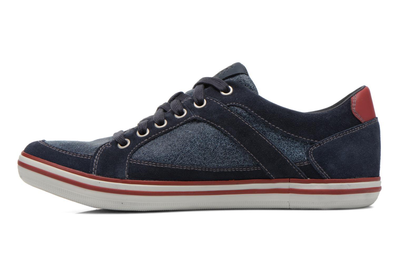 Sneaker Geox U BOX D U44R3D blau ansicht von vorne
