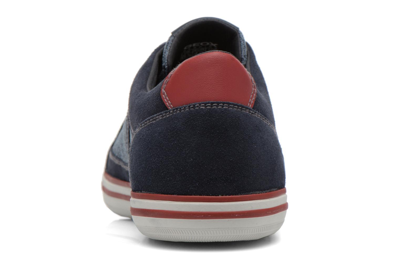 Sneaker Geox U BOX D U44R3D blau ansicht von rechts