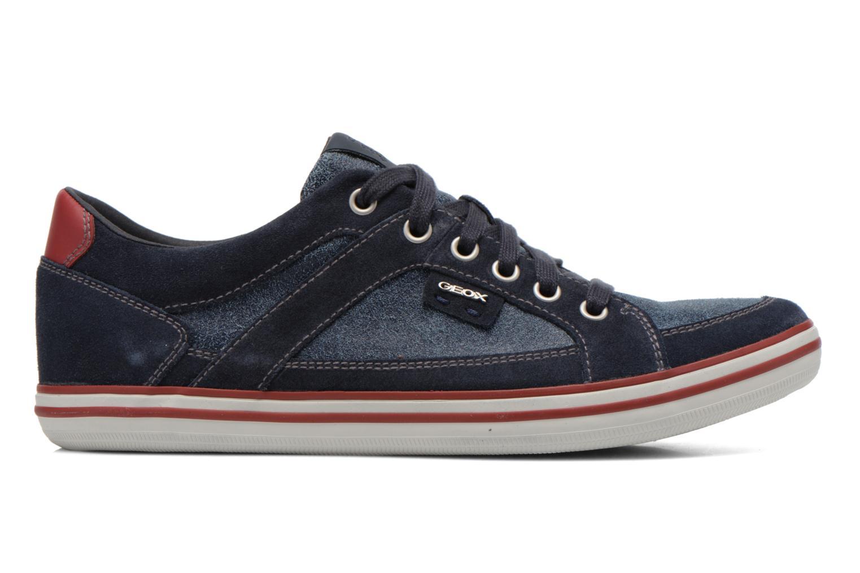Sneaker Geox U BOX D U44R3D blau ansicht von hinten