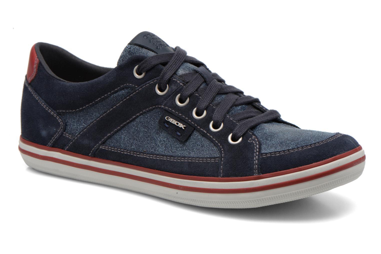 Sneaker Geox U BOX D U44R3D blau detaillierte ansicht/modell