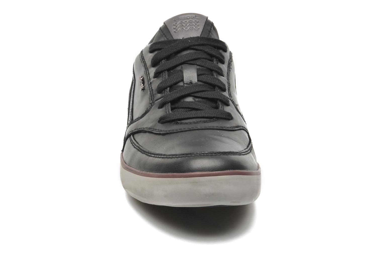 Baskets Geox U BOX A U44R3A Noir vue portées chaussures