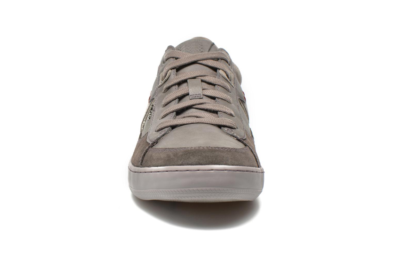 Sneaker Geox U BOX C U44R3C grau schuhe getragen