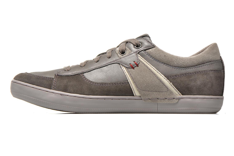 Sneaker Geox U BOX C U44R3C grau ansicht von vorne