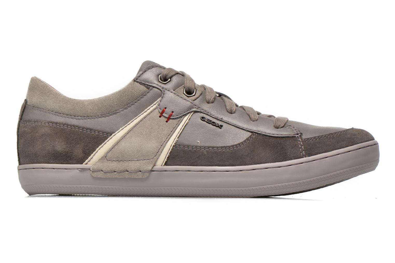 Sneaker Geox U BOX C U44R3C grau ansicht von hinten