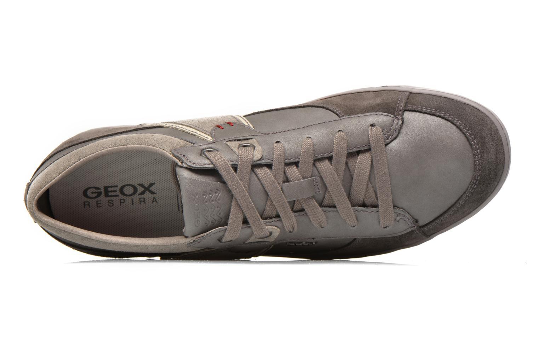 Sneaker Geox U BOX C U44R3C grau ansicht von links