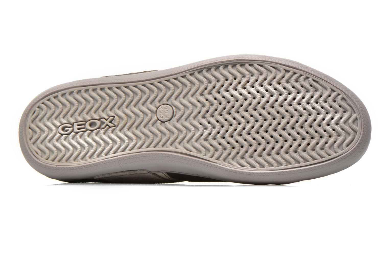 Sneaker Geox U BOX C U44R3C grau ansicht von oben