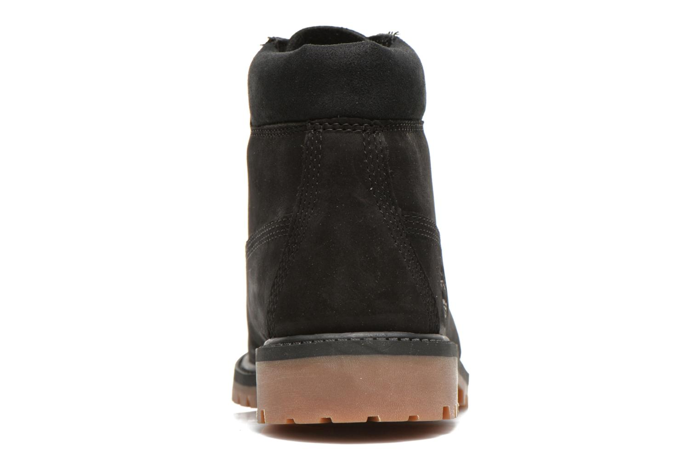 Botines  Timberland 6 In Premium WP Boot Negro vista lateral derecha