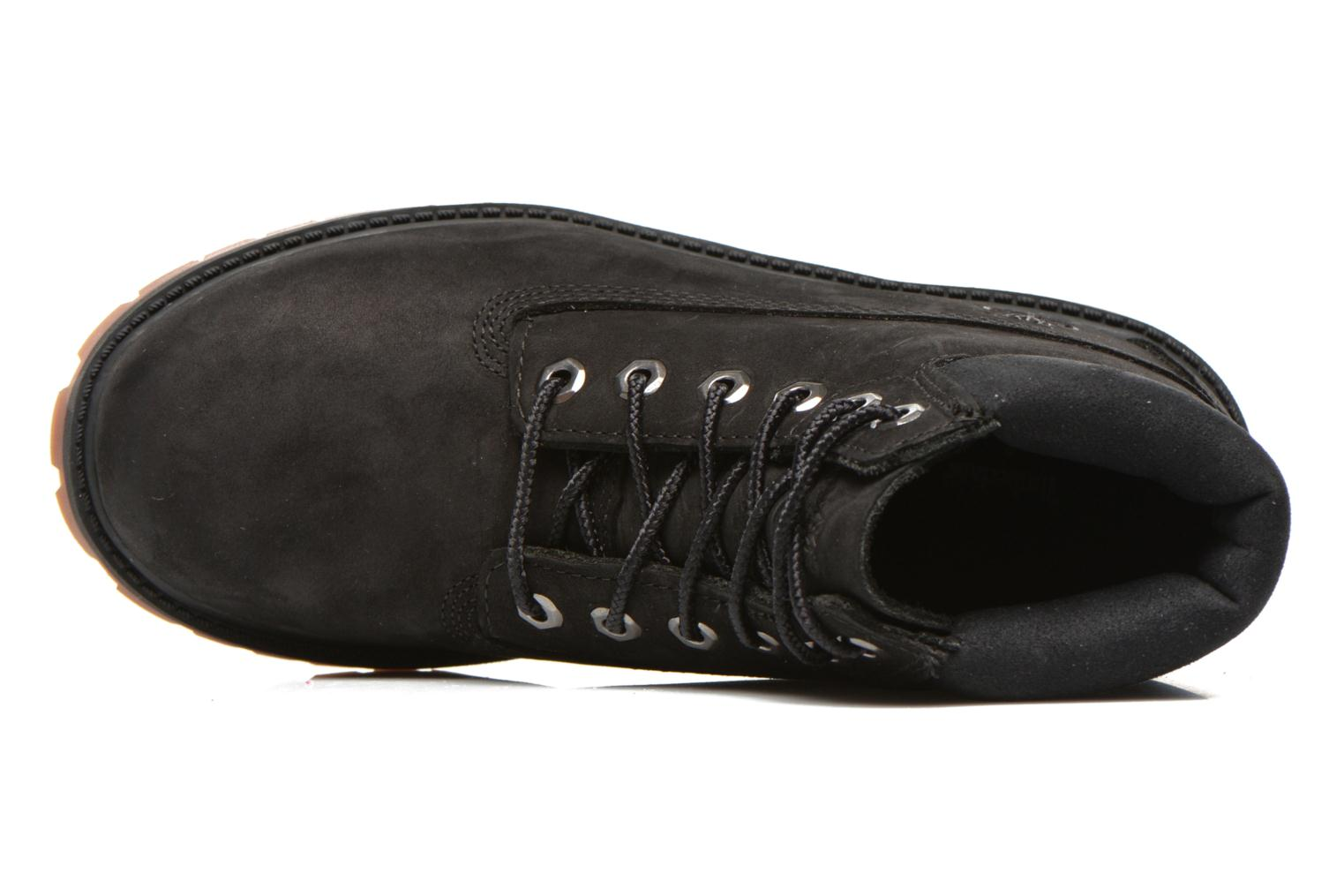 Ankle boots Timberland 6 In Premium WP Boot Black view from the left