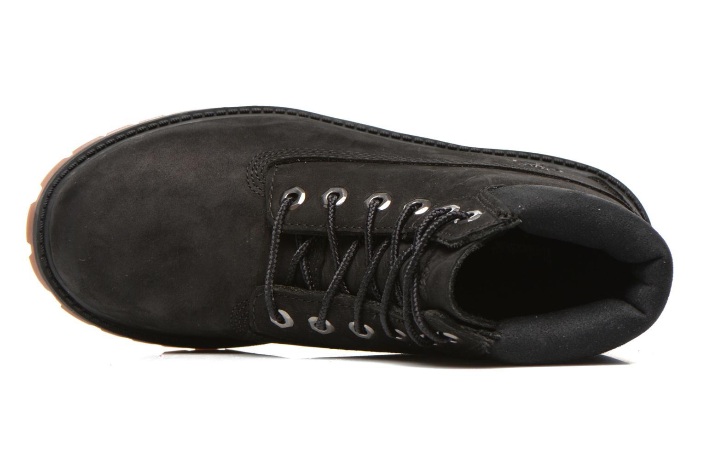 Botines  Timberland 6 In Premium WP Boot Negro vista lateral izquierda