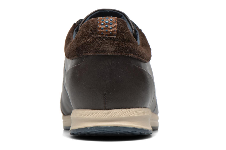 Sneaker Geox D AVERY C D44H5C braun ansicht von rechts