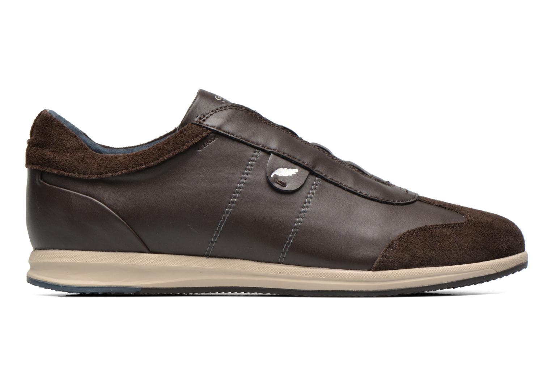 Sneaker Geox D AVERY C D44H5C braun ansicht von hinten