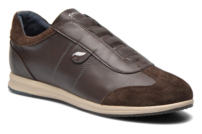 Sneaker Geox D AVERY C D44H5C braun detaillierte ansicht/modell