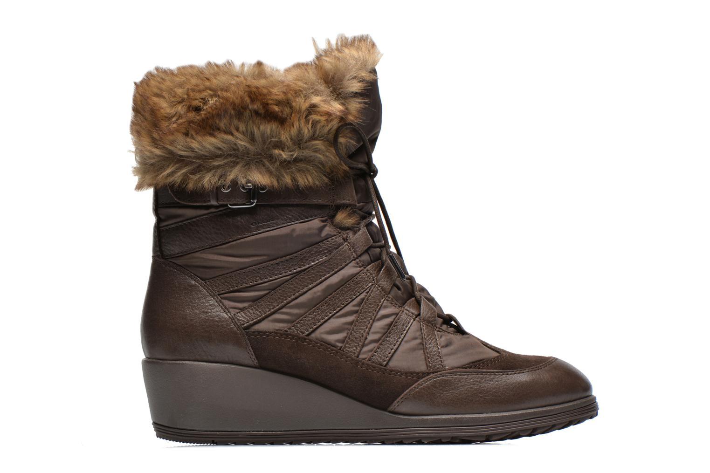 Boots en enkellaarsjes Geox D HENNIE B D44Y3B Bruin achterkant