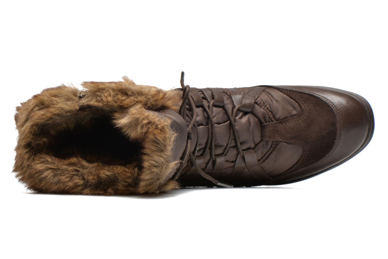 Boots en enkellaarsjes Geox D HENNIE B D44Y3B Bruin links