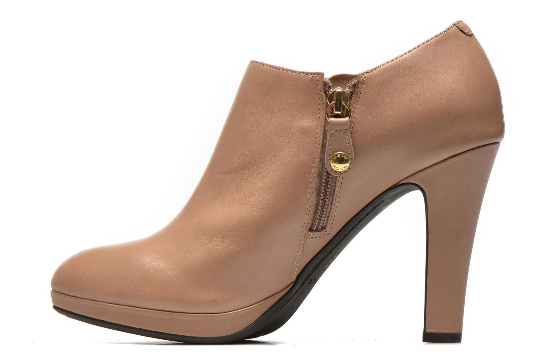 Boots en enkellaarsjes Geox D Mariele D44W8D Beige voorkant