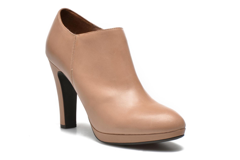 Stiefeletten & Boots Geox D Mariele D44W8D beige detaillierte ansicht/modell