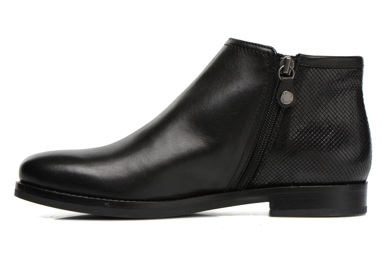 Boots en enkellaarsjes Geox D PROMETHEA F D44R3F Zwart voorkant