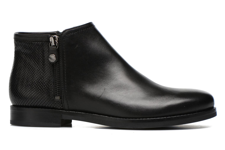 Boots en enkellaarsjes Geox D PROMETHEA F D44R3F Zwart achterkant