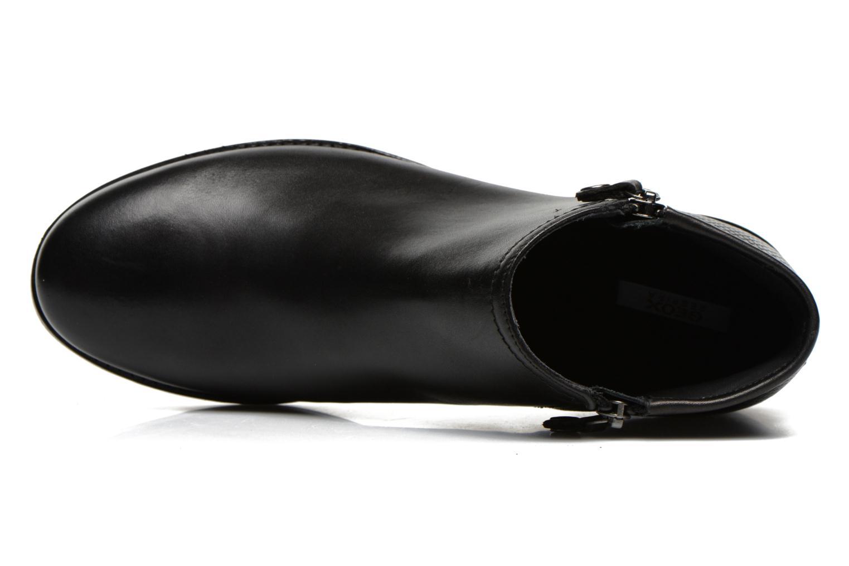 Boots en enkellaarsjes Geox D PROMETHEA F D44R3F Zwart links