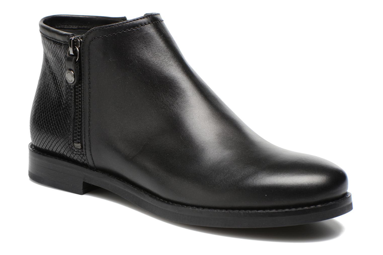 Boots en enkellaarsjes Geox D PROMETHEA F D44R3F Zwart detail