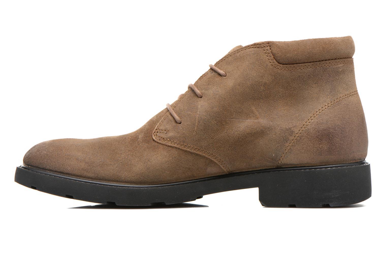 Chaussures à lacets Geox U RUBBIANO B U44Z8D Beige vue face