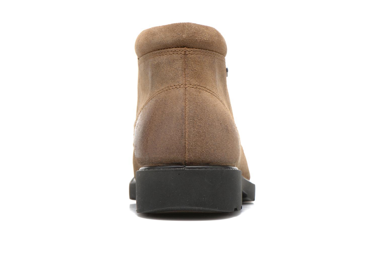 Chaussures à lacets Geox U RUBBIANO B U44Z8D Beige vue droite