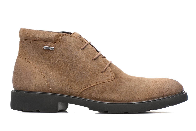 Chaussures à lacets Geox U RUBBIANO B U44Z8D Beige vue derrière