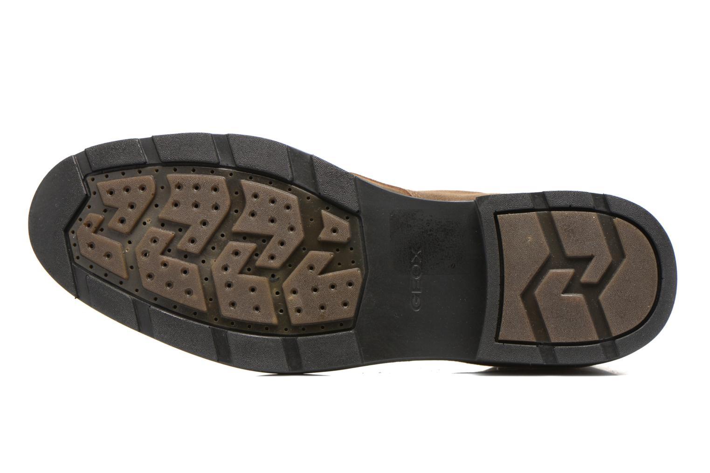 Chaussures à lacets Geox U RUBBIANO B U44Z8D Beige vue haut