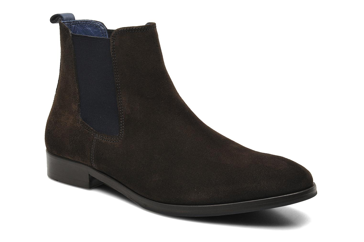 Ankle boots Brett & Sons Blaure Brown detailed view/ Pair view