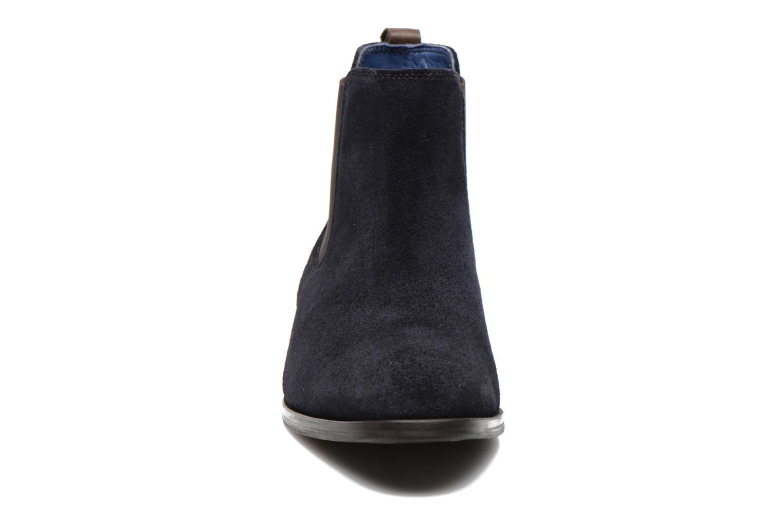 Botines  Brett & Sons Blaure Azul vista del modelo